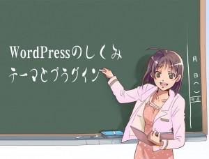 WordPressのしくみ テーマとプラグインについて