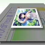 ライトボックス形式の使い方などいろいろな画像の貼り付け方を説明します。